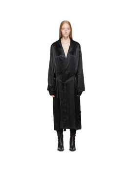 Black Nanette Dress by Ann Demeulemeester