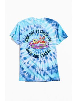Are You Feeling It Mr. Krabs Tie Dye Tee by Urban Outfitters