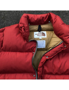 Vintage 1970s Brown Label North Face Puffer Down Jacket by The North Face  ×