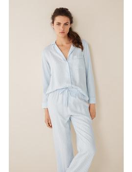 Long Striped Classic Pyjamas by Women'secret