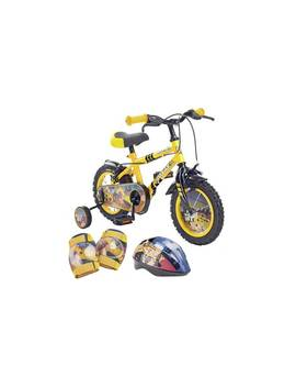 Pedal Pals 12 Inch Digger Kids Bike And Accessories Set836/2575 by Argos