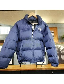 North Face Nuptse 700 Goose Down Puffer Jacket Coat Men Medium M Zut by The North Face