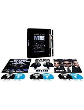 Men In Black Trilogy: 20th Anniversary Edition (4 K Ultra Hd + Blu Ray) by Sony Pictures