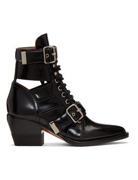 Black Rylee Medium Boots by ChloÉ
