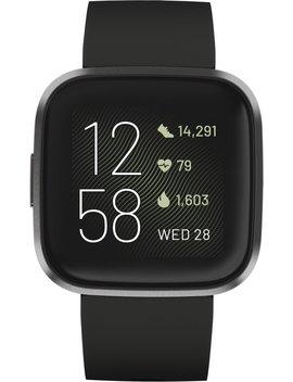 Fitbit Versa 2   Smartwatch   Zwart by Fitbit