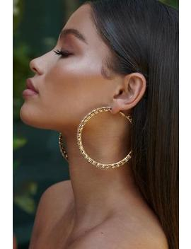 Gold Halo Earrings by Sia & Stars