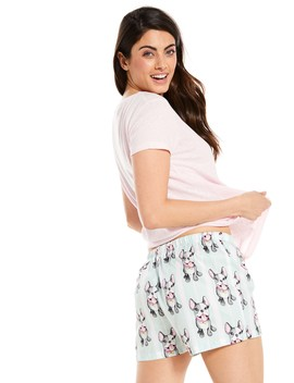 Frenchie Kisses Mid Short by Peter Alexander