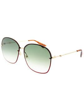Gucci Women's Oval 63mm Sunglasses by Gucci
