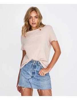 Origin T Shirt  Blush Pink by Au