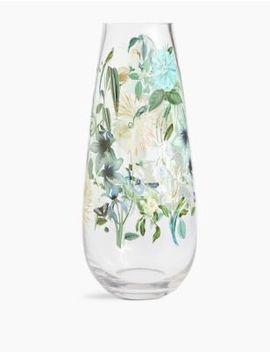 Amelie Decal Vase by Marks & Spencer