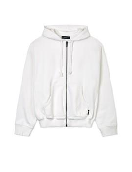 Gr Uniforma Zip Hoodie (White) by Dover Street Market