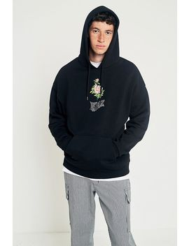 Uo Nostalgic Rose Black Hoodie by Urban Outfitters