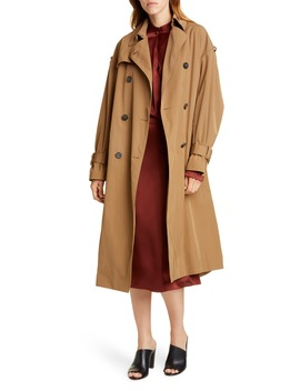 Belted Technical Trench Coat by Vince