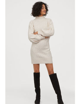 Vestido En Punto Trenzado by H&M