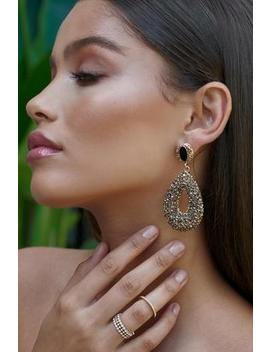 Gold Delphine Earrings by Sia & Stars