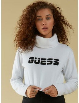 Nolan Cropped Pullover by Guess