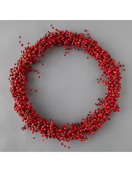 Red Berry Wreath by Terrain