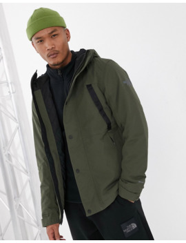 The North Face Stetler Insulated Rain Jacket In Green by The North Face