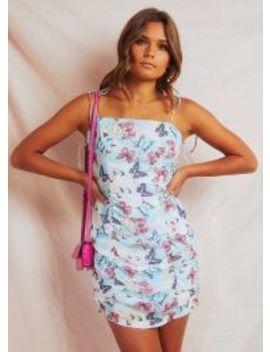Noella Dress   Blue/ Pink by Peppermayo