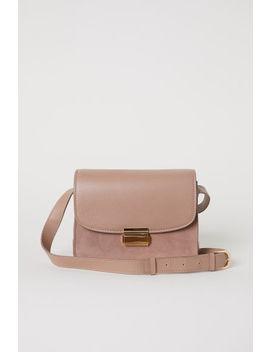 Чанта за рамо от кожа by H&M