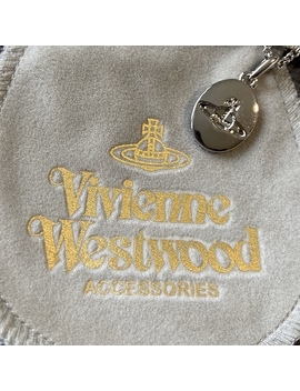 Vivienne Westwood Orb Stamp Necklace With Dust by Depop
