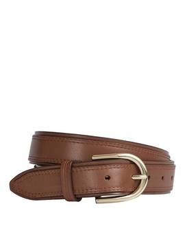 Tan Leather Viola Belt by Reiss