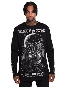 Firebreather Long Sleeve Top by Killstar