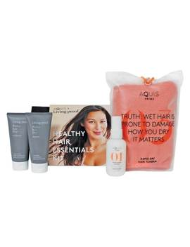 Aquis + Living Proof Healthy Hair Essential Kit by Aquis