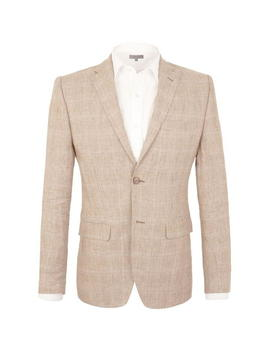 South Grove Linen Tailored Jacket by Alexandre