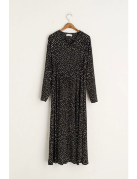 Coffee Bean Dress, Black by Olive
