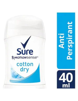 Sure Women Cotton Stick Anti Perspirant Deodorant 40ml by Superdrug