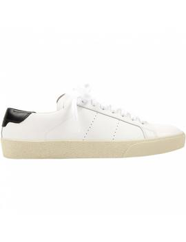 Andy Leather Trainers by Saint Laurent