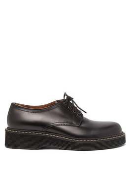 Leather Derby Shoes by Marni