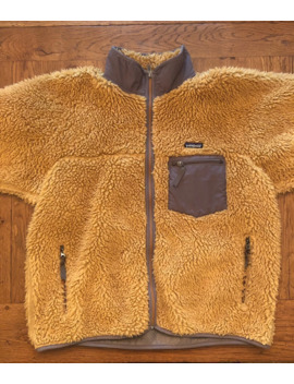 Vintage Patagonia 2001 Retro X Deep Pile Fleece Jacket Xl by Vintage  ×  Patagonia  ×