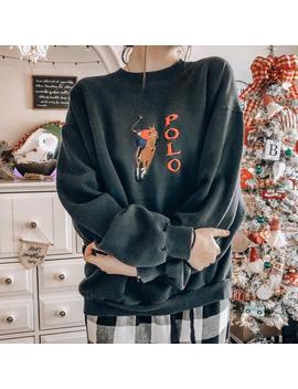 Ralph Lauren Sweatshirt by Etsy