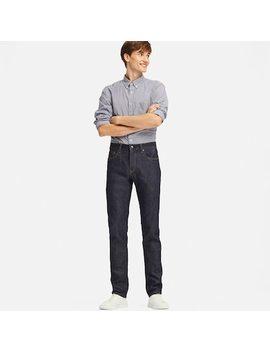 Herren Selvedge Jeans Mit Stretch Anteil (Slim Fit) (8) by Uniqlo