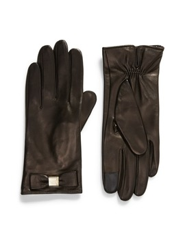 Bow Touchscreen Gloves by Kate Spade New York