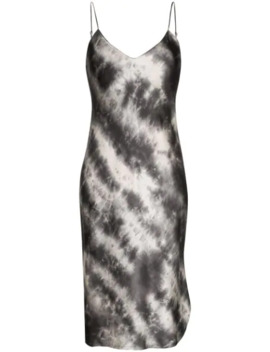 Tie Dye Midi Slip Dress by Nili Lotan
