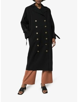 Double Breasted Trench Coat by Toteme