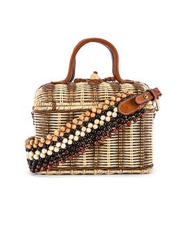 Priska Lunchbox Bag In Natural by Ulla Johnson
