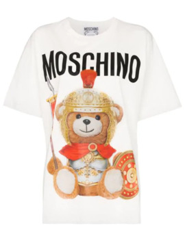 Centurion Teddy Oversized T Shirt by Moschino