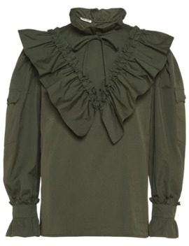 Ruffled Blouse by Miu Miu
