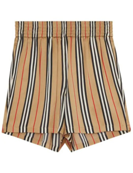 Icon Stripe Shorts by Burberry