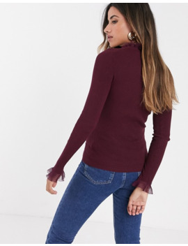 Ted Baker Keliiey Frill Detail Jumper by Ted Baker