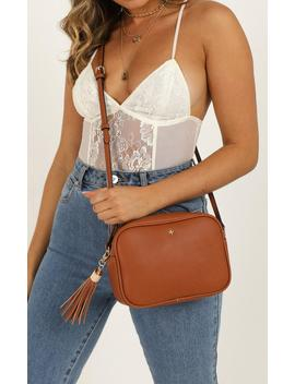Peta And Jain   Gracie Shoulder Bag In Tan Pebble by Showpo Fashion
