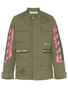 Utility Pocket Shirt Jacket by Off White