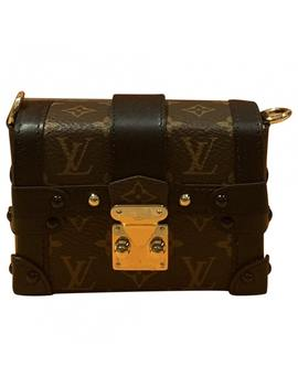 Petit Malle Cloth Crossbody Bag by Louis Vuitton
