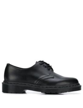 туфли на шнуровке и низком каблуке by Dr. Martens