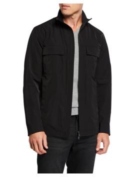Men's Everett Foundation Tech Jacket by Theory