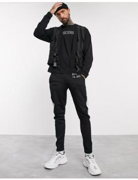 Asos Design   T Shirt Oversize à Manches Longues Avec Logo Dark Future by Asos Design